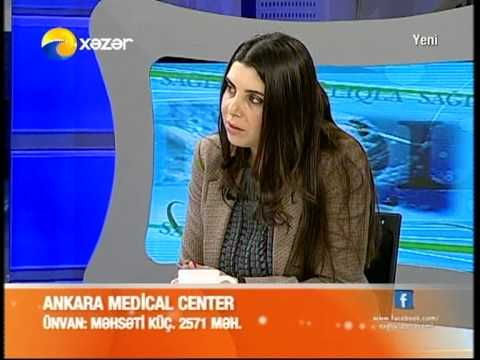 Ankara Medical Center - Sağlıqla - Xəzər TV - 13.02.2013