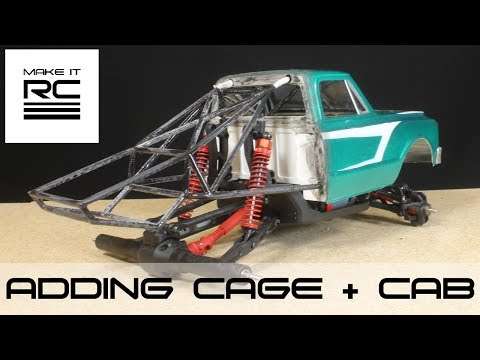 Project Prerunner: Part 2 Adding Roll Cage and Working on Cab