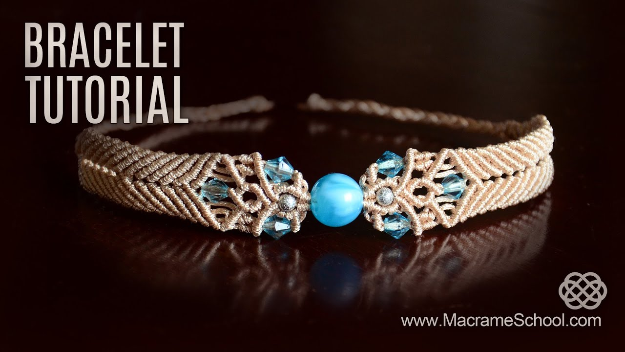 Big Bead Boho Bracelet Tutorial By Macrame School Youtube