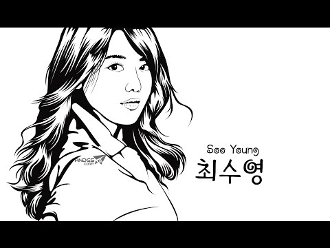 Line Art Photo With Adobe Illustrator ( FULL )