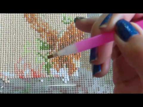 Как пользоваться алмазной мозаикой