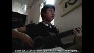 Nhat ky cua me Guitar + lyric