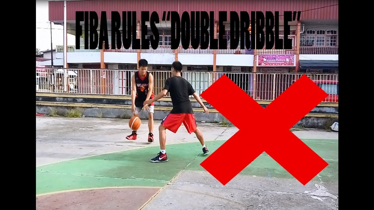 Peraturan Permainan Bola Basket Violation Double Dribble Youtube