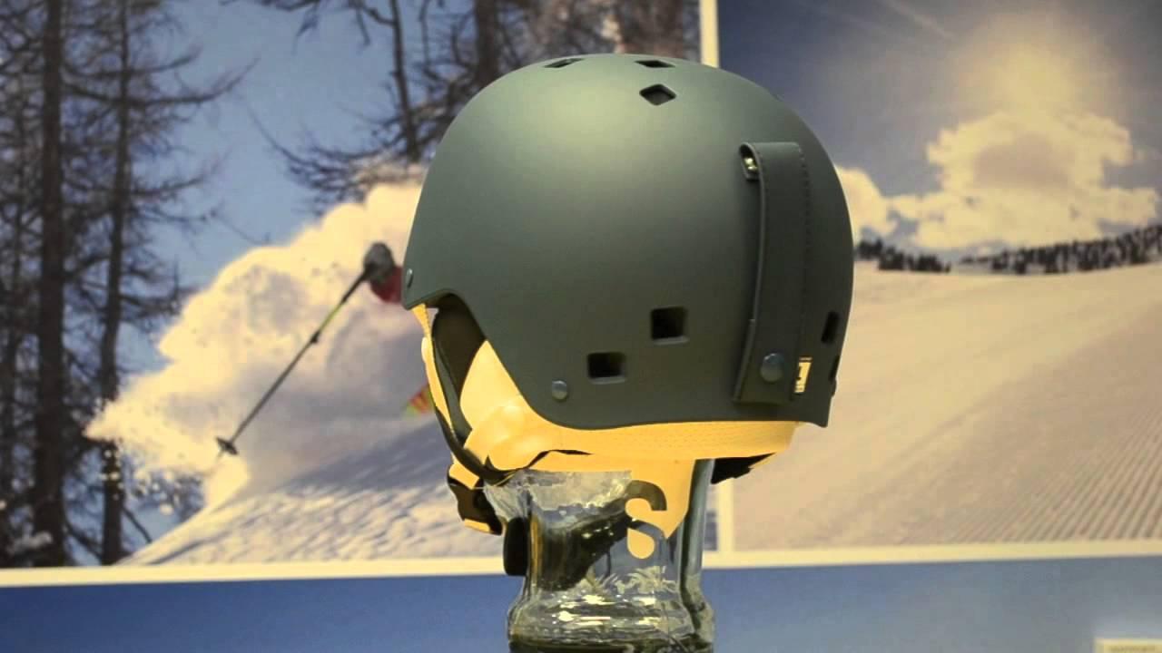 nouvelle collection cf326 a3070 2015 Salomon Brigade Ski and Snowboard Helmet (blue mat) 360° View - Sail  and Ski
