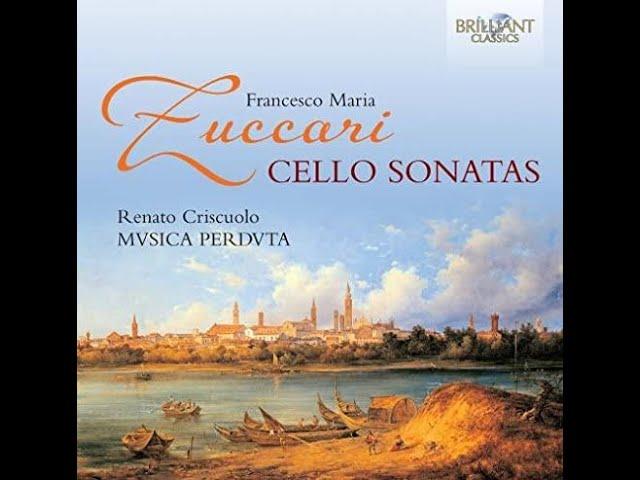 Musica Perduta - trailer CD Francesco M. Zuccari, Cellosonatas