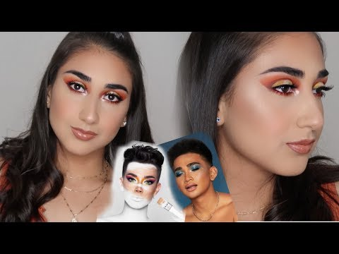 JAMES CHARLES vs. BRETMAN ROCK | Trying out BOTH collabs! thumbnail