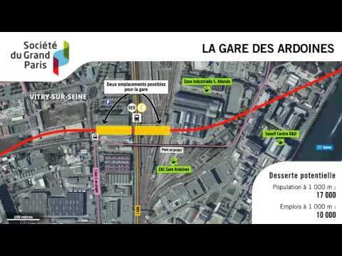 Société du Grand Paris : présentation du projet de réseau