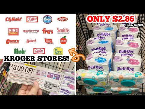 FREE BABY WIPES & HUGGIES PULL UPS NEW LEAF DEAL! 👶🏻 KROGER STORES COUPONING *END 1/12