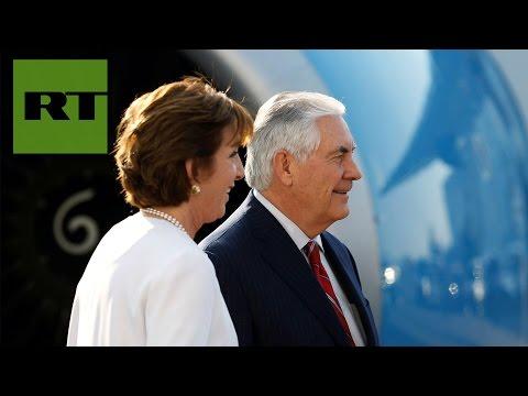 Rex Tillerson viaja a México en medio de las...