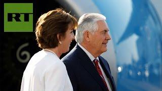 Rex Tillerson viaja a México en medio de las tensiones por la política migratoria