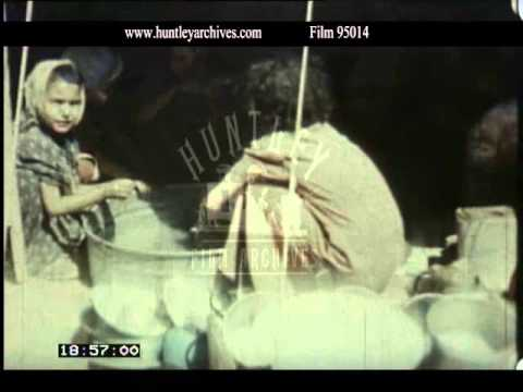 Life in Immigration Camps in Israel, 1950 - Film 95014