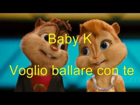 Ba K  Voglio ballare con te Chipmunks