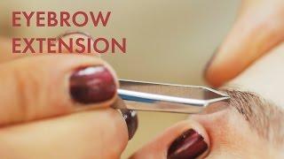 Eyebrow Extensions » Die perfekten Augenbrauen » Der absolute MEGA Trend | STYLIGHT