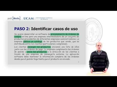 Ingeniería del Software II - Modelado de requisitos con UML (Casos de Uso) - Fernando Pereñiguez