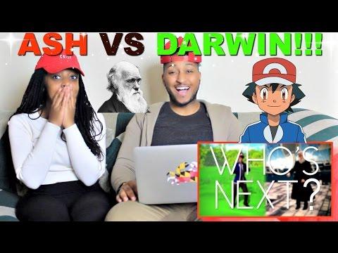 """Epic Rap Battles Of History """"Ash Ketchum Vs Charles Darwin"""" Reaction!!!"""