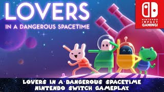 Lovers in a Dangerous Spacetime Nintendo Switch Gameplay