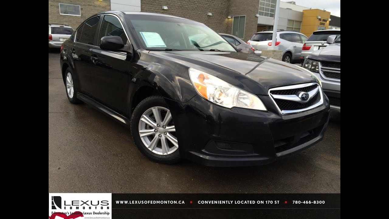 Used black 2010 subaru legacy h4 auto prem pzev review drayton used black 2010 subaru legacy h4 auto prem pzev review drayton valley alberta youtube vanachro Images