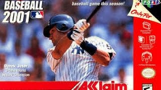 All Star Baseball 2001 Nintendo 64 Gameplay