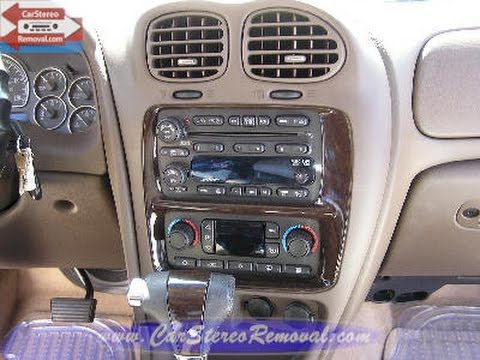 hqdefault buick rainier car audio stereo removal youtube 2005 buick rainier wiring diagram at webbmarketing.co