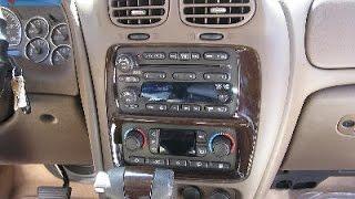 Buick Rainier Car Audio - Stereo Removal