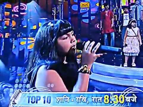 Indian Idol Junior Anjana's Performance