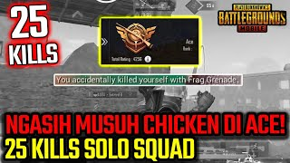 GA SENGAJA NGASIH MUSUH CHICKEN DI RANK ACE! - PUBG MOBILE INDONESIA
