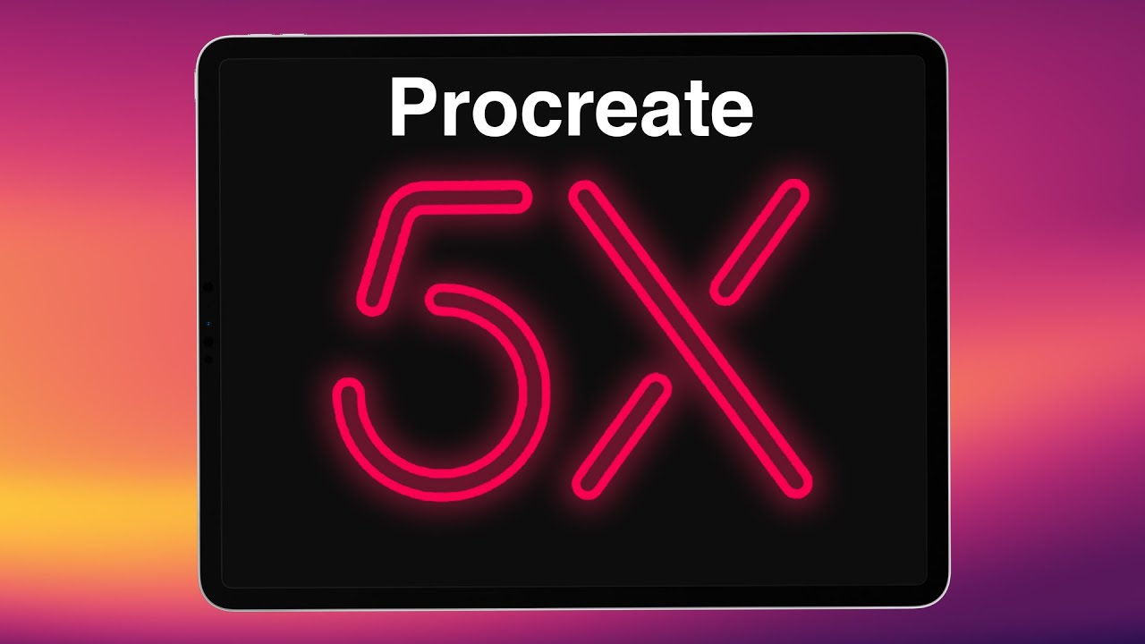 PROCREATE 5X Hands-On: Sneak Preview of all the new features!