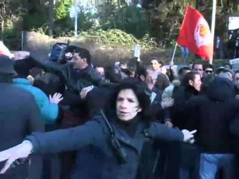 Assalto All'ambasciata Libica A Roma
