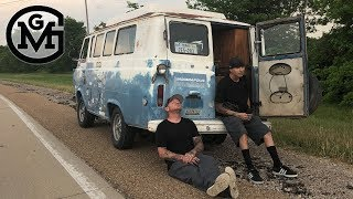 "Taking The ""First In Line"" Van Home - GAS MONKEY GARAGE"