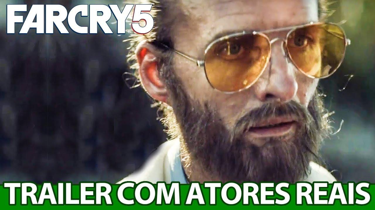 Trailer com atores REAIS de Far Cry 5 é PESADO demais