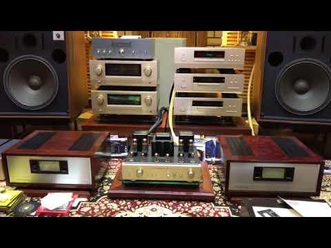 JBL L200 Bass 136A. + Luxman Tube 38Signature