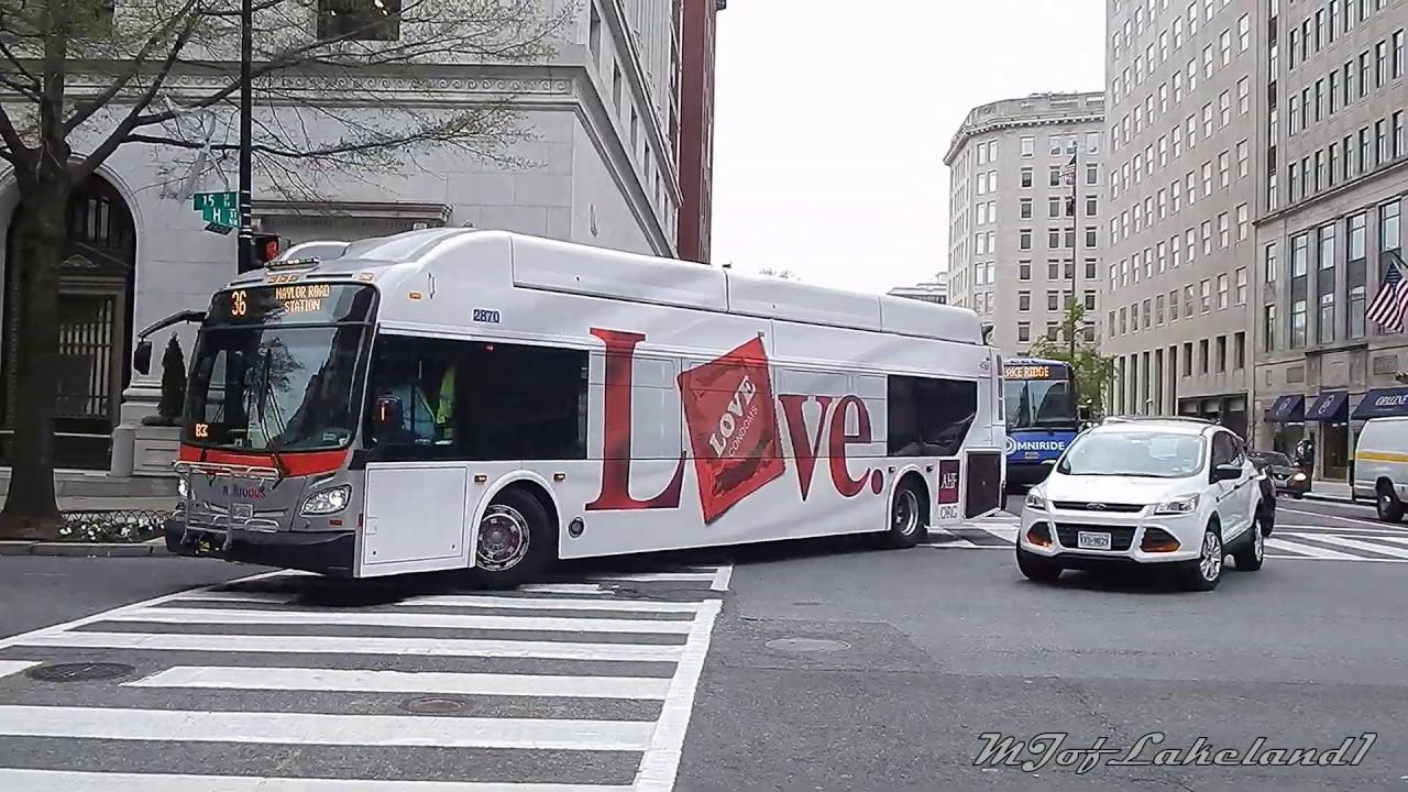 WMATA Metrobus: Bus Observations (April 2019) -- Part 2/3