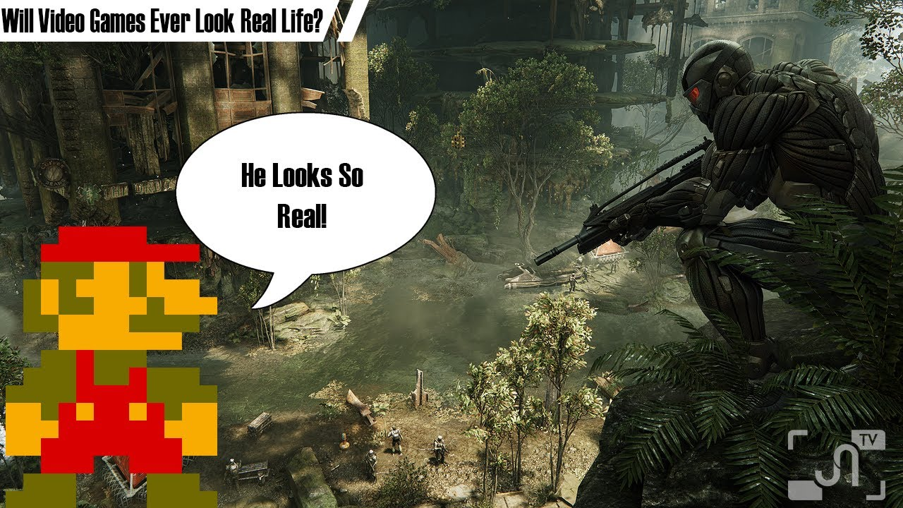Will Video Games Ever Look Like Real Life - Garage Gamer -9211