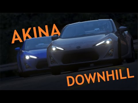 Assetto Corsa || Two dirty GT86s have an epic battle |