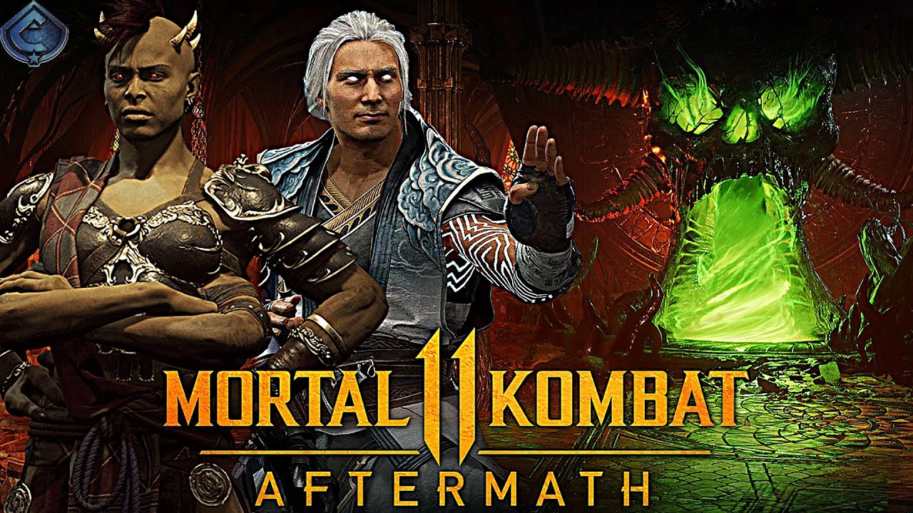 Mortal Kombat 11 Aftermath New Friendship And Stage Revealed