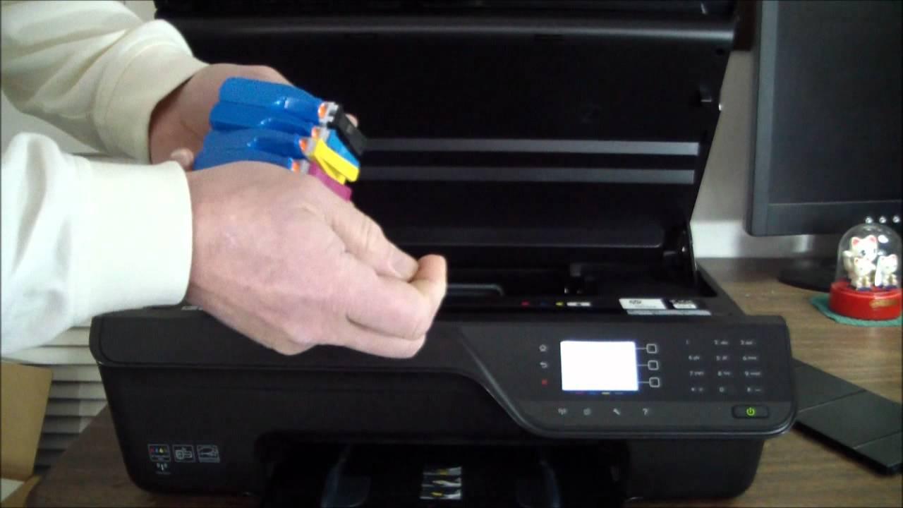 hp officejet 4620 unboxing setup [ 1280 x 720 Pixel ]