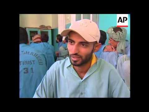 Drug abuse in Afghan refugee camps