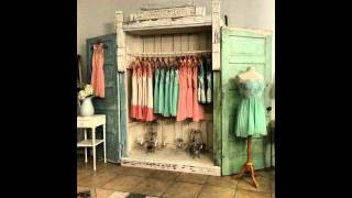 Shabby chic wardrobe design ideas