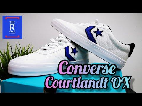 Converse Courtlandt OX White Colour