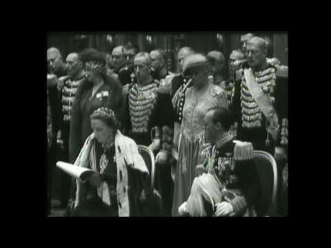 Beëdiging en inhuldiging Koningin Juliana in de Nieuwe Kerk (1948)