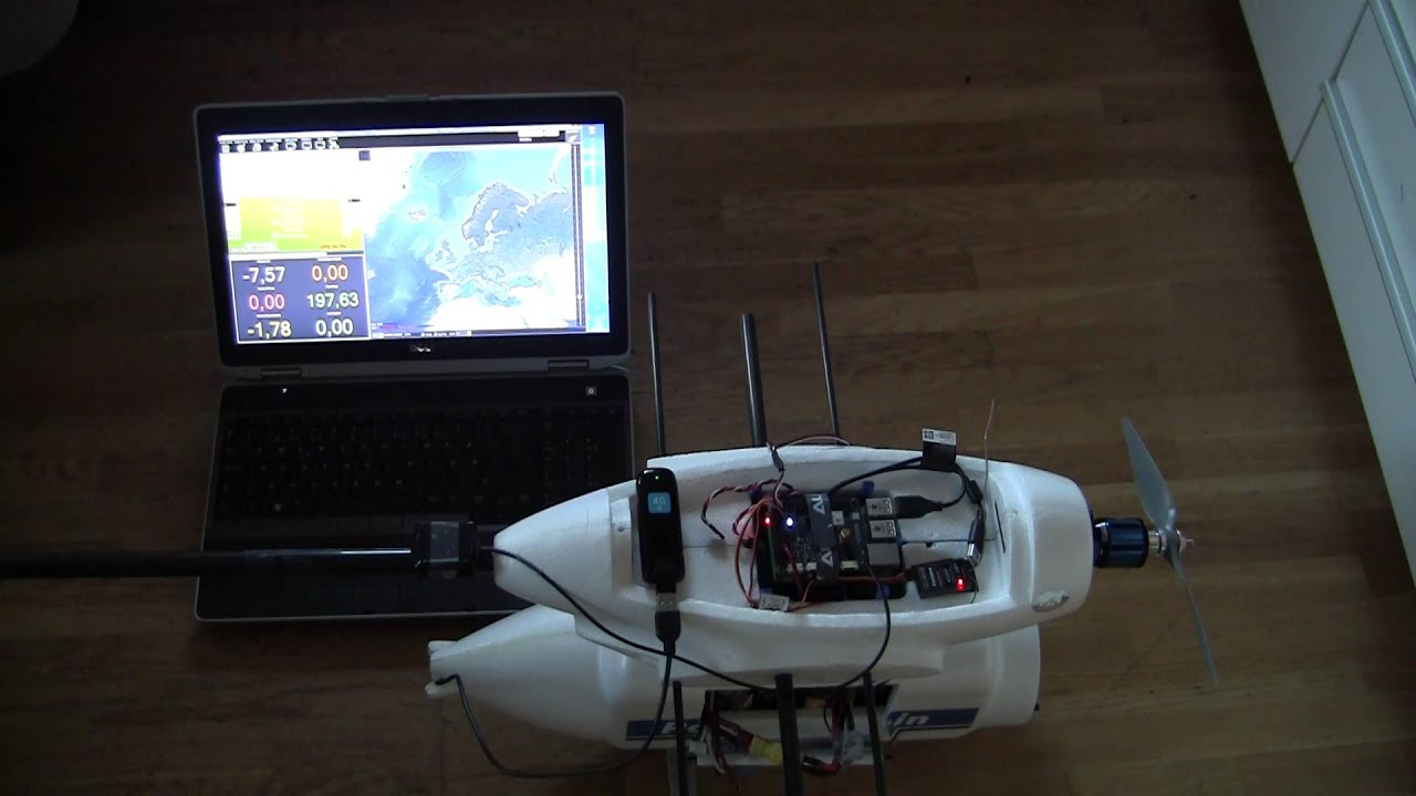 HOW TO]Navio+ and RPI2, Create the ultimate 4G Drone  - UAV