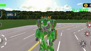 Army Bus Robot Transform Wars – Air jet robot game | android gameplay screenshot 5
