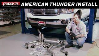 2003 08 dodge ram 2500 3500 5 7l american thunder cat back exhaust system 17438