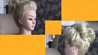 видео Свадебные причёски – 2015 с диадемой, короной: фото, пошаговая инструкция. Причёска на свадьбу с диадемой