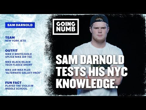 NY Jets Sam Darnold Performs Post Malone!   Going Numb   Ep. 6, Szn. 2