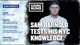 GOING NUMB | SAM DARNOLD