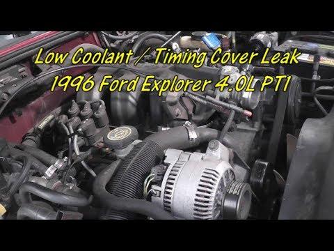Radiator For Ford Explorer 1995 1996 1997 4.0 V6 2 Row  OHV