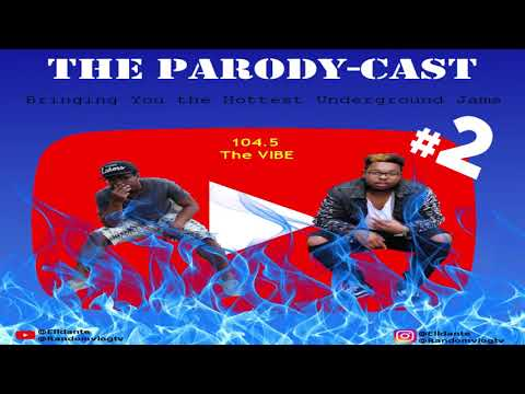 PARODY-CAST #2 (104.5 The Vibe) | Dope Underground Hiphop Artists in your area | Peeuurr Peeuurr