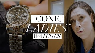 Iconic Ladies Watches from £1,000 to £12,000
