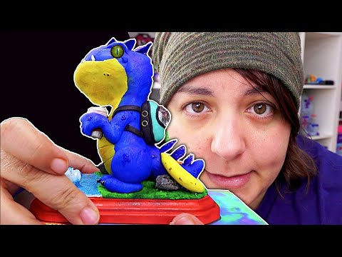 MAKING A BOX FOR Simply Nailogical's Sculpture Vlogmas 2019 #7